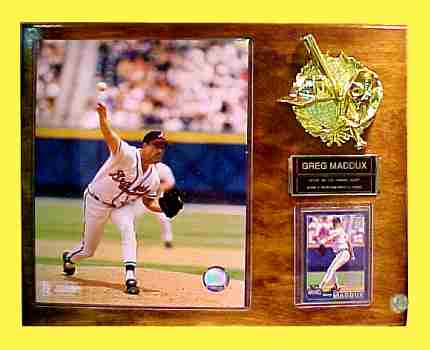 Baseball's Greg Maddux - Atlanta Braves